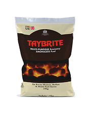TAYBRITE SMOKELESS COAL - 5 x 25KG BAGS (125KG) - DIRECT FROM MANUFACTURER