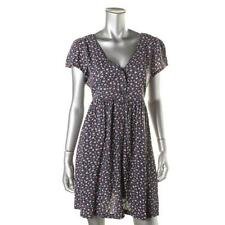 DENIM & SUPPLY RALPH LAUREN Women's New Navy Floral Pattern Casual Dress M