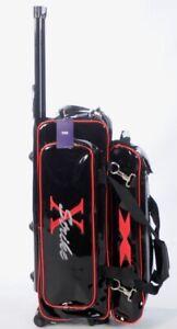 BRAND NEW DESIGN XSTRIKE CROSSBREED 3 BALL ROLLER BLACK/RED