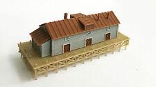 Outland Models Train Railway Layout Waterfront / Dockside Warehouse Z Gauge