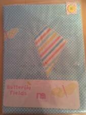 Baby Cot Pocket Butterfly Fields Bnwt