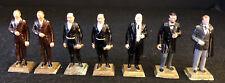 Vintage Marx President Figures Lot Of 7 1960's