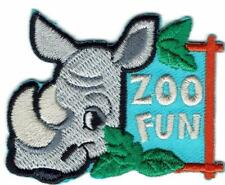 Girl Boy Cub ZOO FUN Patches Crests Badges SCOUT GUIDE Visit Tour animal Trip