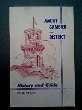 VINTAGE MOUNT GAMBIER HISTORY GUIDE BOOK SOUTH AUSTRALIA