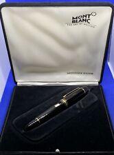 Pluma Fountain Pen estilográfica Montblanc Meisterstuck 149 EF plumin 585 14k