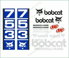 BOBCAT 753 SKID STEER Loader Full High Cast Vinyl Decals Stickers Kit Super Look