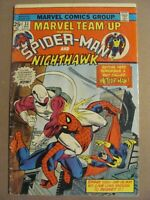 Marvel Team-up #33 Marvel Comics 1972 Series Spider-Man Nighthawk