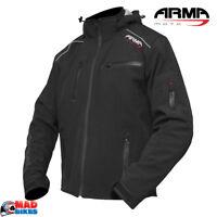 ARMR Moto Sukuta Waterproof Motorcycle Motorbike Soft Shell Textile Jacket