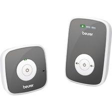 Beurer BY 33 Babyphone digital, strahlungsarm, 300m Reichweite Akku, weiss-grau