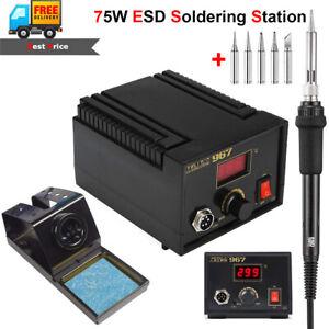 75w ESD Soldering Station Lead-free Electric Rework Iron Digital LCD Desoldering