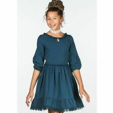 Matilda Jane Out Of The Blue Dress Make Believe Size 12 Nwt