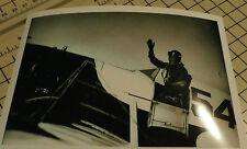 GEE BEE #54 & MAUDE TAIT AIR RACING B&W 5X7 PHOTOGRAPH