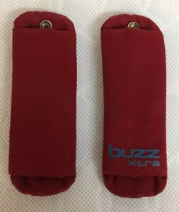 Quinny Buzz Extra Chest Pads Shoulder Pads Red Spare Replacement