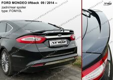 SPOILER REAR BOOT TRUNK FORD MONDEO 5 V MK5 MKV WING ACCESSORIES