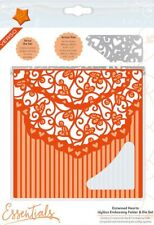 Tonic Studios Idyllics Embossing Folder & Die Set Entwined Hearts 1599e