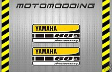 Pegatinas yamaha 60 aniversario vinilo adhesivo stickers decals autocollant