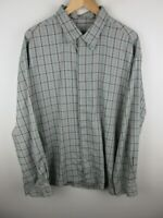 Timberland Mens Shirt Size XL Long Sleeve Button Up Regular Fit Green Plaid