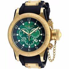 Invicta Mens Russian Diver Ronda 5040.D Quartz Chronograph Polyurethane Watch