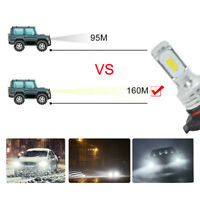 Universal 9005 HB3 LED Headlights Bulbs Kit High Beam 35W 4000LM 6000K White Top