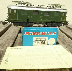 Märklin 3014 - ex RET 800 H0 Elektrolok Re 4/4 i Epoche 3/5 analog + Digital