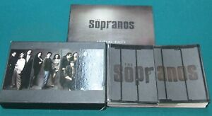 The SOPRANOS Complete Series DVD Box Set Season 1 2 3 4 5 6 dvds HBO mob book