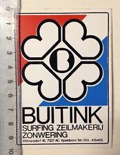 Aufkleber/Sticker: BUITINK - Surfing Zeilmakerij Zonwering (030316135)
