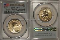 2019 P Enhanced Native Sacagawea Dollar $1 PCGS SP69 FIRST STRIKE Position A