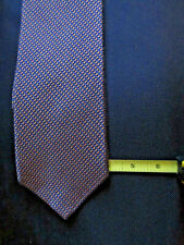 Hickey Freeman Brown with Blue Accents Tie
