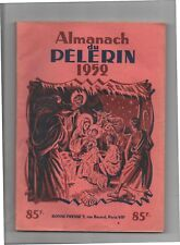 Almanach du Pèlerin 1952 - Pat'Apouf de GERVY - très bel état