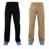 Men Skaters Designer Straight Leg Denim Cotton Jeans Trousers Pants