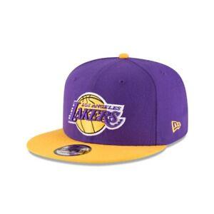Los Angeles Lakers LA New Era 9FIFTY NBA Adjustable Snapback Hat Cap 2Tone 950