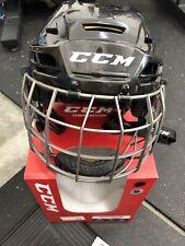 Ccm Tacks 310 hockey helmet Combo- black - Small