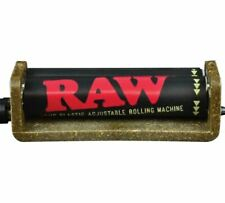 RAW 2 way rollers Handroll Cigarette Tobacco Rolling Machine Roller Maker 79mm