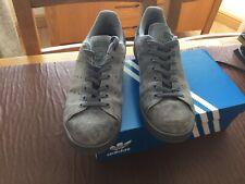 Adidas Originals Stan Smith Grey Suede Size 10 UK - Reliable seller
