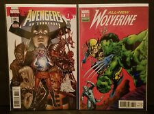 AVENGERS #681 NM + All New Wolverine #31 NM Hulk 181 Homage and Voyager Origin