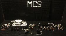 Lego Custom WW2 German Panzer 2, Staff Car, Pak 36 & X3 Motorcycles W/Sidecar+++