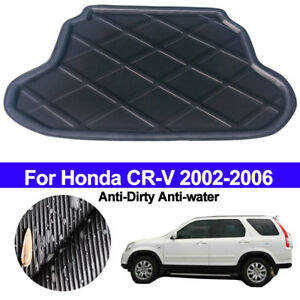 Rear Boot Cargo Liner Trunk Floor Mat Luggage Tray For Honda CR-V CRV 2002- 2006