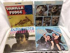 1960s HIPPIE MUSIC 4 VINYL LP LOT: Vanilla Fudge Turtles Donovan Mamas Papas
