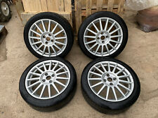 """Genuine Ford Focus ST170 - 17"""" x 7J Alloy Wheels & Tyres - Used #2"""