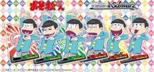 Bushiroad Weiss Schwarz Booster Pack Osomatsu-san Trading Cards from Japan