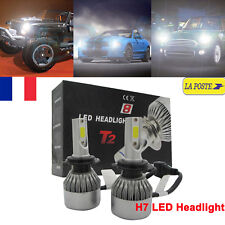 110W 26000LM H7 CREE LED Voiture Phare Feux Headlight Kit 6000K Blanc Ampoules