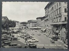 Cartolina - MONTECATINI TERME (Pistoia) Piazza del Popolo - VG 1960 Animatissima