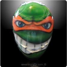 Teenage Mutant Ninja Turtle TMNT Painted Airbrushed Motorcycle Helmet