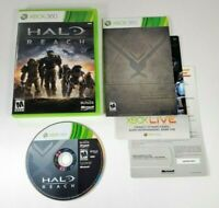 COMPLETE - Halo Reach - Microsoft Xbox 360 2010 - UNSC Spartan Squad Shooter