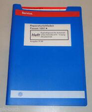 Werkstatthandbuch VW Passat Eigendiagnose Automatik Getriebe 01V 5 G Syncro 1998