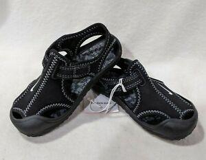 Nike Sunray Protect (TD) Black/White Toddler Boy's Sandals - Size 8C NWOB