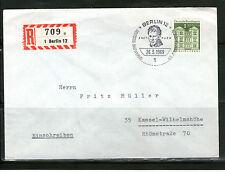 Briefmarken aus Berlin (1960-1969) mit Bedarfsbrief