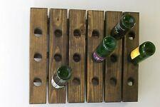 Wine Riddling Rack Wall Hanging Wine Rack Handmade