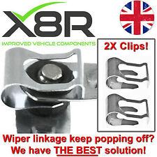FOR ALFA 145 146 147 164 166 WINDSCREEN WIPER MOTOR LINKAGE REPAIR CLIP KIT