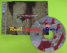CD Singolo PAPA ROACH Getting away Eu 2004 GEFFEN 9863647 mc dvd (S6)